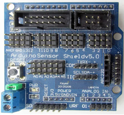 Arduino SENSOR shield v5 для UNO MEGA2560