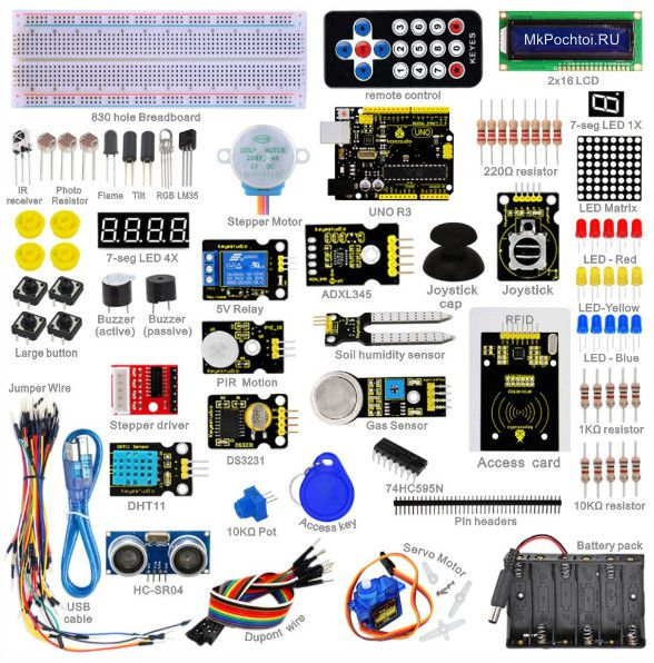 Набор Arduino Android kit